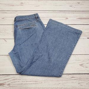 Michael Kors Curvy Flare Leg Jeans Size 12 | MK